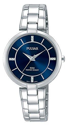 Pulsar Damen Analog Quarz Uhr mit Kein Armband PH8313X1