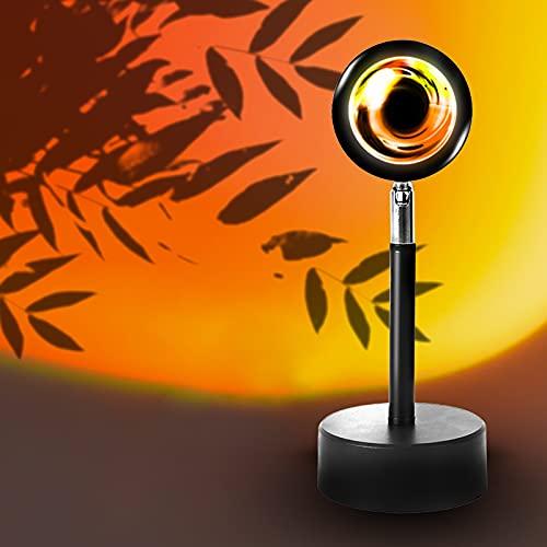 Sunset Lamp Projector Light Jestar Sunset LED Night Light 180 Degree...