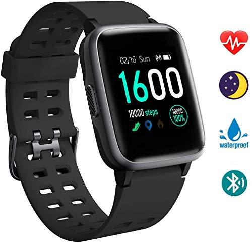 Orologio Intelligente, Smartwatch Orologio Fitness da Uomo e Donna, Cardiofrequenzimetro da Polso...