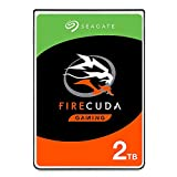 Seagate FireCuda Gaming (Compute) 2TB Solid State Hybrid Drive Performance SSHD  2.5 Inch SATA 6GB/s Flash Accelerated for Gaming PC Laptop - Frustration Free Packaging (ST2000LX001)