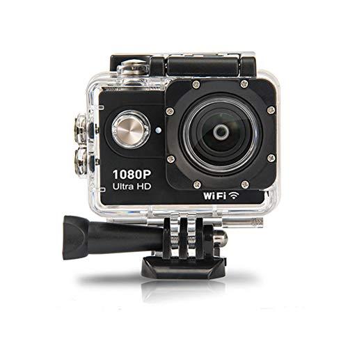 KAMAW Videocamera di Azione Full HD da 2.0 Pollici Action Cam 1080P 12MP Sports Cam Action Camera Subacquea 30 M / 98 Piedi Kit di Accessori e Montaggio Impermeabili