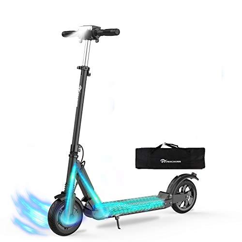 HITWAY Trottinette Scooter électrique Pliable Batterie E-Scooter Pliable 7.5Ah | 350 Watts | 25 km/h | pour Adolescents et Adultes
