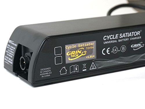 Cycle Satiator 72V Programmable Electric Bike Battery Charger (Electronics)