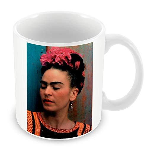 Taza de Cerámica Foto de la Famosa Estrella de Frida Kahlo pintor Original 8