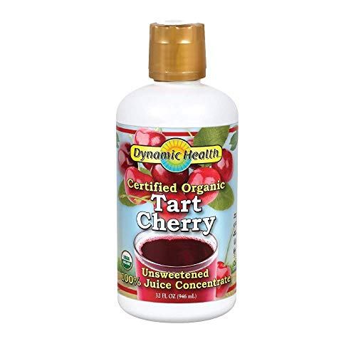 Dynamic Health Certified Organic Tart Cherry Juice Concentrate, 32 fl oz