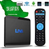 Live IPTV Receiver Box 1600+ Global Channels from Asian American Europe Arabic Brazil India, Subscription Service No Monthly/Yearly Fee