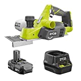 RYOBI 18-Volt Cordless 3-1/4 in. Planer Kit with Battery and Charger (No Retail Packaging)