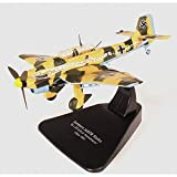 Realistic collectible model Die-cast construction Display stand included Accurate paint scheme and markings 1/72 scale length: 6 inches, wingspan: 7.5 inches