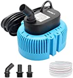 Pool Cover Pump Above Ground - Submersible Sump Pump, Swimming Water...