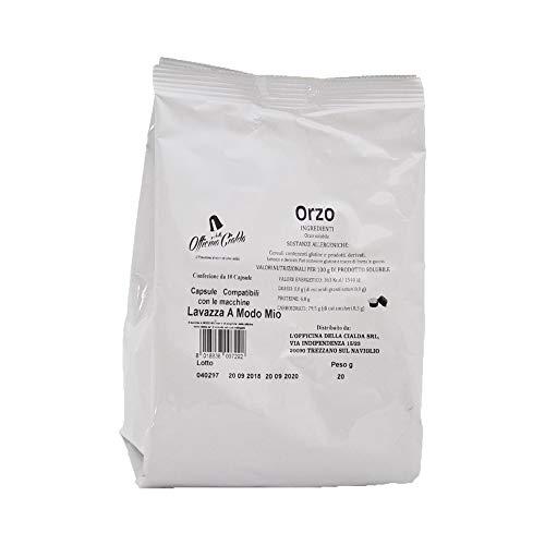 ODC Capsule compatibili con macchina da caffè sistema Lavazza A modo Mio kit formato da 100 cialde solubile al Orzo con chiusura salva freschezza MADE IN ITALY
