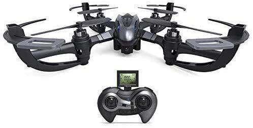 WZLJW Gyro Quattro Assi Drone, 4 canali a 6 Assi Drone, Scorrimento 3D RTF Versione Solo Pulsante Indietro Senza Testa modalit Drone ggsm