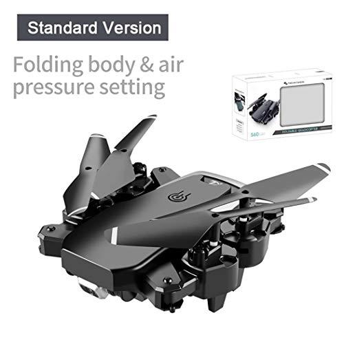 Mimanou Drone quadricottero Pieghevole RC con velivolo Giocattolo per videocamera HD Buche