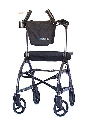 UPWalker Original Upright Walker – Stand Up Rollator Walker & Walking Aid with Seat...