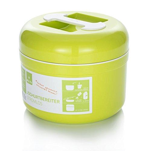 My.Yo Joghurtbereiter ohne Strom, in Limette + 2 Beutel Bio-Fermente gratis!