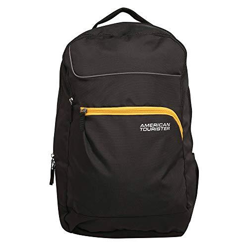 American Tourister 23 Ltrs Black Laptop Backpack (FN6 (0) 09 002)