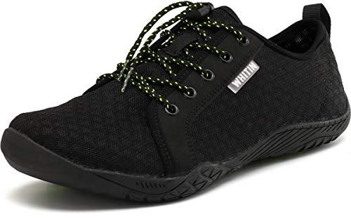 WHITIN Homme Minimaliste Barefoot Aquatiques Toile Shoes zéro Drop...