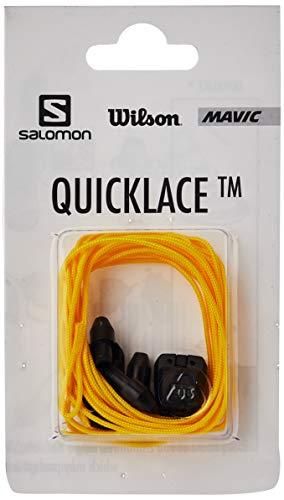 Salomon QUICKLACE KIT L32667500 Set de Cordones, Unisex, Amarillo