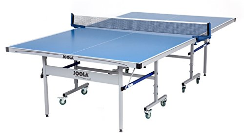 JOOLA NOVA - Outdoor Table Tennis Table with Waterproof Net Set - 10 Minute Easy Assembly - All Weather Aluminum Composite Outdoor Ping Pong Table - Tournament Quality - Indoor & Outdoor Compatible, NOVA DX Outdoor