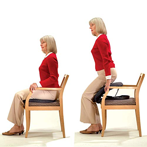 Carex Upeasy Seat Assist - Chair Lift And Sofa Stand Assist - Portable Lifting Seat With Support Up to 200 Pounds, Provides 70% Assistance