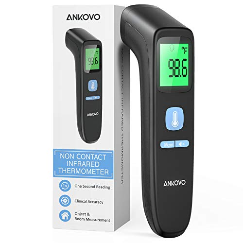 ANKOVO Touchless Thermometer for Adults, Non Contact Forehead...