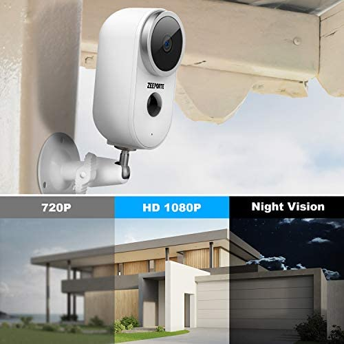 Security Camera Outdoor, 1080P HD Wireless Rechargeable Battery Powered WiFi Home Surveillance Camera with Waterproof, Night Vision, Motion Detection, 2-Way Audio and SD Storage 14