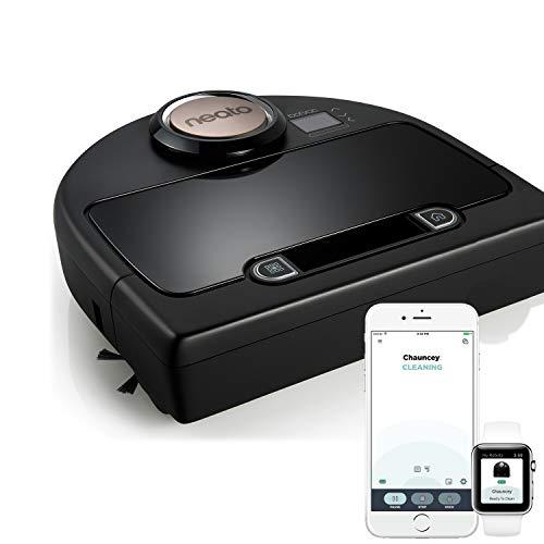 Neato Botvac Connecté DC02 Wifi - Aspirateur Robot Intelligent avec app & système de navigation laser - Aspirateur haute performance sur tous les sols