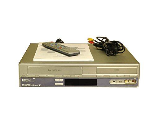 Lite-On LVC-9016G DVD + VHS Combo Recorder (Silver)