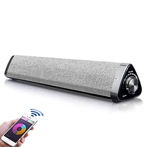 Fityou Versione Innovazione Soundbar TV, 5.0 Bluetooth Altoparlante, Soundbar Suono Surround Home...