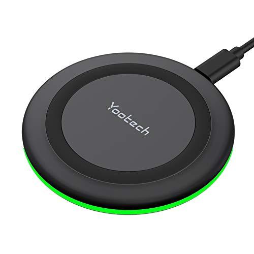 yootech Cargador Inalámbrico Rápido, 7.5W para iPhone 12/12...