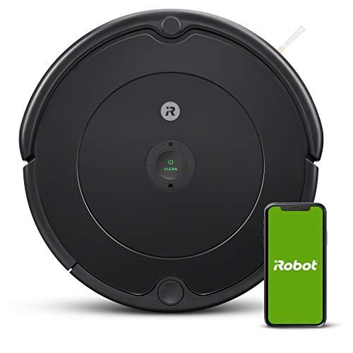 iRobot - Robot aspirador Roomba 692 Wifi, para alfombras y suelos, Dirt Detect, Sistema de limpieza en 3 fases, Smart Home y control App, Sugerencias...