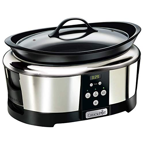 Crock-Pot SCCPBPP605-050 Olla de cocción lenta digital para...