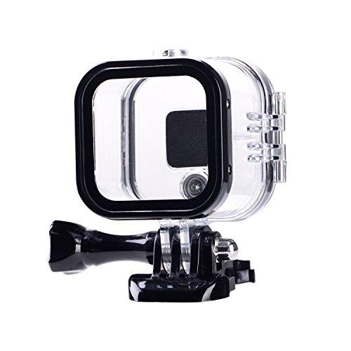 Suptig Custodia protettiva impermeabile di ricambio per GoPro Hero 4session, 5session Telecamera sportiva esterna per uso subacqueo – Resistente all'acqua fino a 60 m …