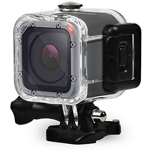 Eyeon 45M Underwater Custodia Impermeabile Custodia Subacquea Custodia Protettiva Dive Case di Nuoto per GoPro Hero 5 Session, Hero 4 Session, Hero Session Action Camera Accessori Acqua