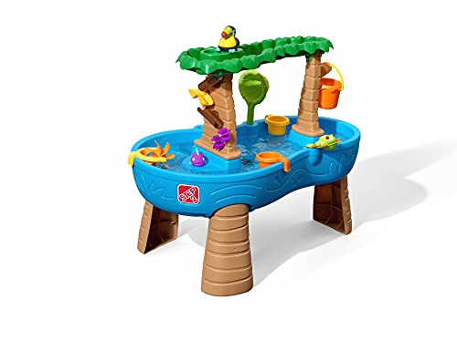 Step2 Tropical Rainforest Water Table | Colorful Kids Water Play Table with 13-Pc Accessory Set