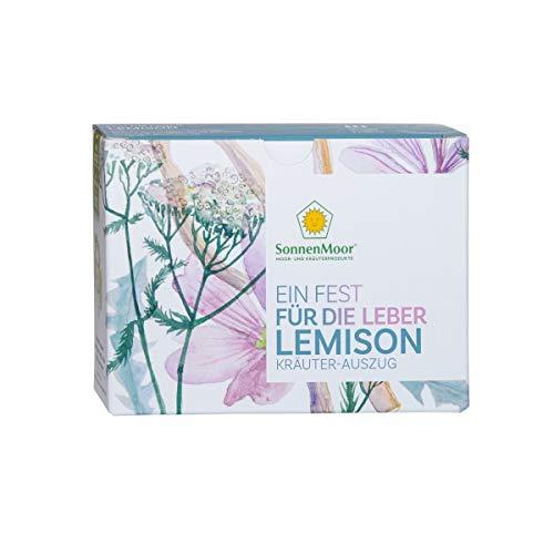 SonnenMoor Lemison® 3 x 100 ml - flüssiger Kräuterauszug zum Einnehmen für Leber und Galle (3x100ml)