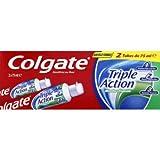 COLGATE - Dentifrice Triple Action Menthe Originale - Favorise une Bonne Santé...