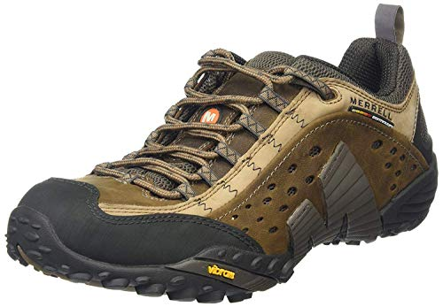 Merrell Intercept, Baskets Basses Homme, Brun (Moth Brun), 43 EU