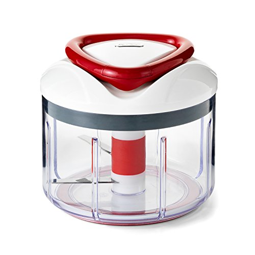 ZYLISS Easy Pull Food Chopper and Manual Food...
