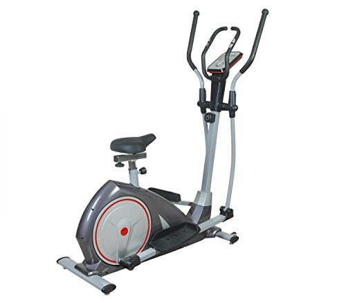 Aerofit Elliptical Cross Trainer with In-Built Pulse Sensor with Front Handle Grips HF943