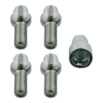 febi bilstein 27056 Wheel Bolt Kit lockable, pack of one