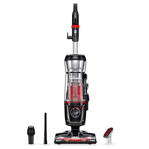 Hoover Max Life Pro Pet Swivel Hepa Media Vacuum Cleaner, Bagless Upright for Pets Hair and Home, Black, UH74220PC
