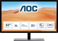 """AOC Value-Line Q3279VWF écran Plat de PC 80 cm (31.5"""") Quad HD LED Noir - Écrans Plats de PC (80 cm (31.5""""), 2560 x 1440 Pixels, Quad HD, LED, 5 ms, Noir)"""