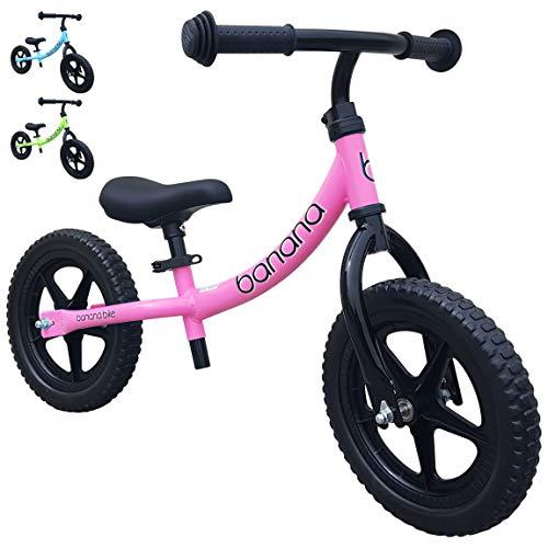 Banana Bike LT Bici Senza Pedali Leggera - Bicicletta per Bambini - 2, 3 e 4 Anni (Rosa)