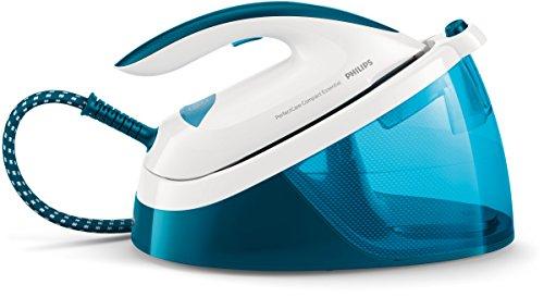 Philips GC6830/20 Ferro generatore di vapore PerfectCare Compact Essential, tecnologia OptimalTEMP, fino a 5.5 bar di pressione della pompa, colpo 270 g, serbatoio 1.3 litri