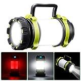 SGODDE Lampe de Camping LED Rechargeable, 1000 Lumens Ultra Puissante...