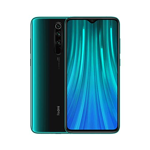 Xiaomi Redmi Note 8 Pro (6.53 '' FHD + Screen, Drop Notch, 6GB + 64GB, 64MP Quad Camera, MediaTek Helio G90T, 4500 mAh with 18W Charge, NFC) Forest Green