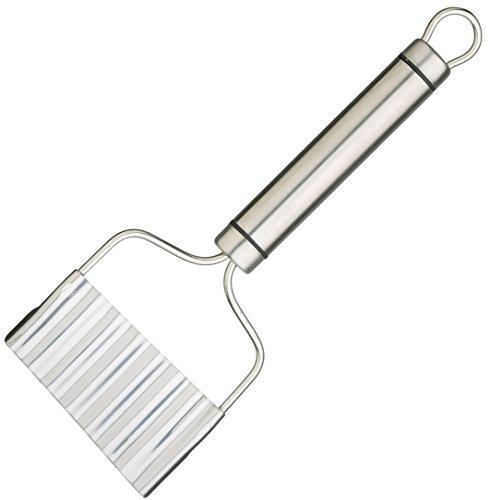 Kitchen Craft Professional Affetta Verdure/Taglierina per Patatine in Acciaio Inossidabile, 21 cm x 8 cm (8.5' x 3')