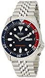 Seiko 7S26 Calibre, 21 Jewel, 40-Hour Power Reserve, Automatic Movement Unidirectional Rotating Bezel Luminous Hands and Markers Recessed Crown at the 4 o'clock Position Day and Date Window Scratch-Resistant Hardlex Crystal Glass Stainless Steel Brac...