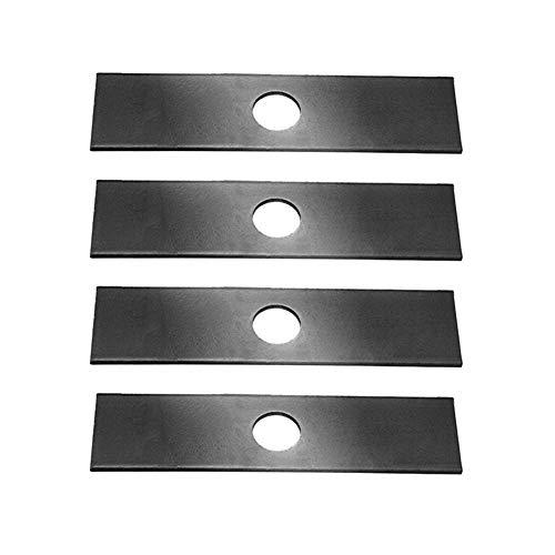 4 Pack, Heat Hardened (longer life) Edger Blades Replace Ryobi 613223, Echo 720-237-001, Stihl 4133-713-4101, Maruyama 216062. Green Machine 237001