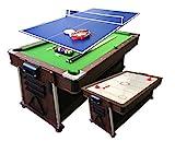 grafica ma.ro srl Billard AMERICAIN 7FT Vert + Hockey DE Table + Table DE...